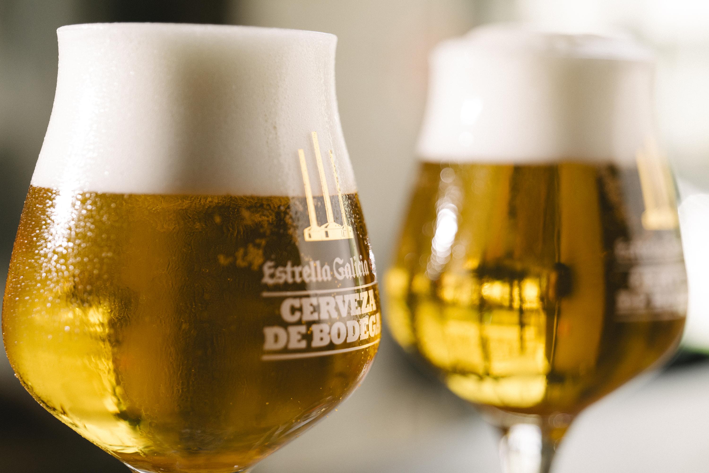 Kellerbier Estrella Galicia Cerveza de Bodega